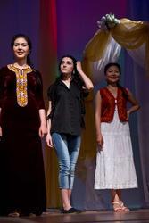На фото слева направо Бахар (Туркменистан), Зульфия (Дагестан/Россия, победительница), Алтынай (Кыргызстан)