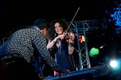 Татьяна Винокур — скрипачка, танцовщица, красавица
