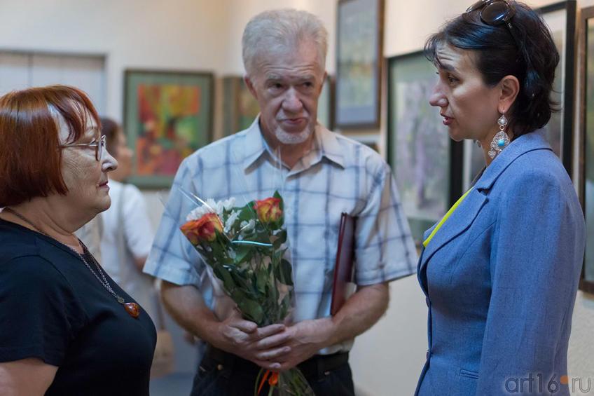 Фото №101422. Эвелина Бусова, Зуфар Гимаев, Ирада Аюпова