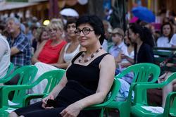 Розалия Нургалеева на джазе в усадьбе Сандецкого
