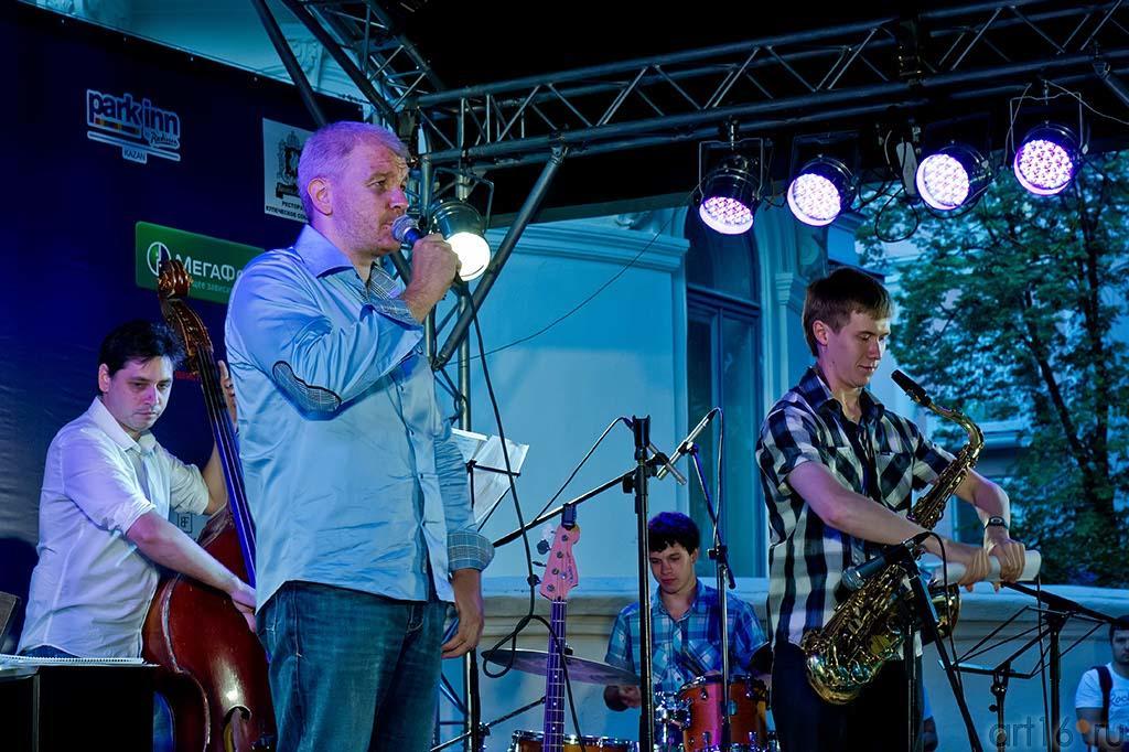 ʺRuden Jazz Bandʺ ::Джаз в Усадьбе Сандецкого. 2012.07.05