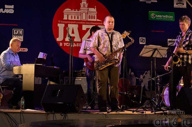 ʺRuden Jazz Bandʺ::Джаз в Усадьбе Сандецкого. 2012.07.05