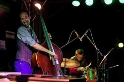 Haggai Cohen Milo — контрабас, Lee Fish — барабаны