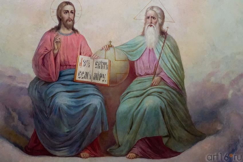 Фото №104538. Роспись в Соборе Богоматери Всех Скорбящих Радости