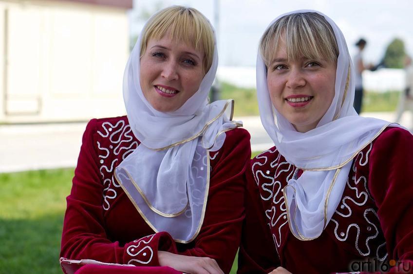 Фото №104712. Участницы Чувашской государственной академической симфонической капеллы