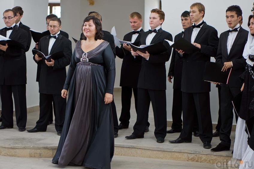 Миляуша Таминдарова, Государственный Камерный хор РТ::Свияжск, июль 2012