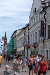 Улица Баумана. Казань, июль 2012