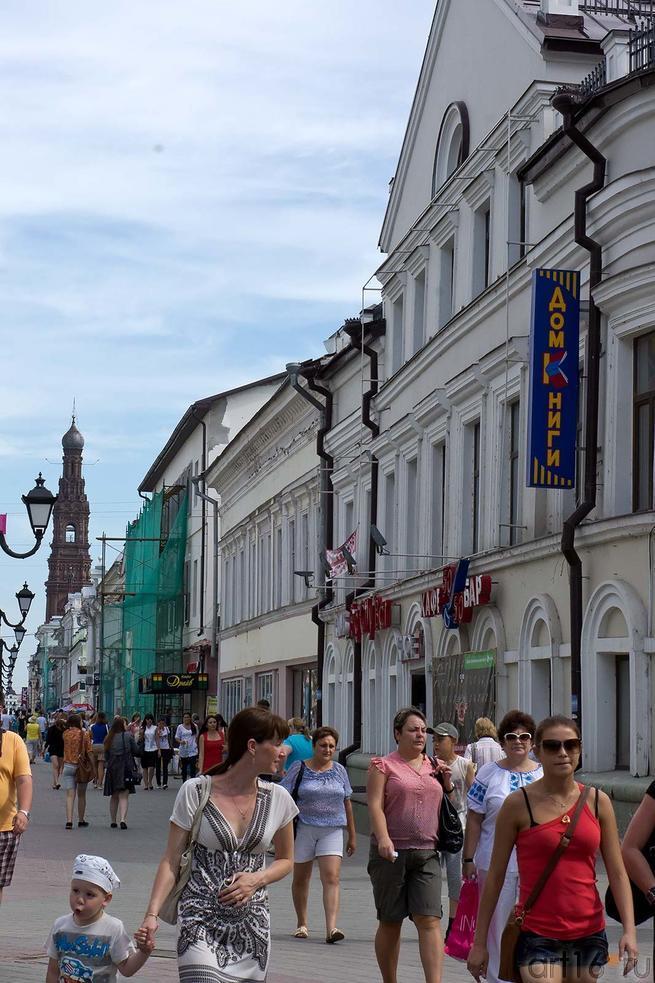 Фото №105305. Улица Баумана. Казань, июль 2012