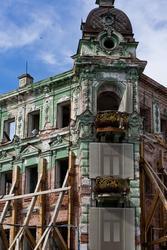 Руины гостиницы  «Казань», июль 2012