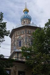 Вид на Петропавловский собор со стороны ул. М.Джалиля. Казань, июль 2012