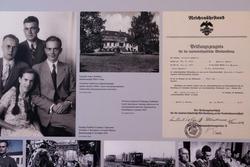 Герхард Хумберт с братьями и сестрой /усадьба семьи Хумберт / Аттестат Г.Хумберта