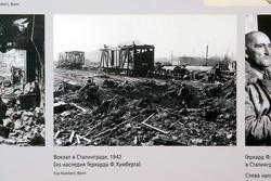 Вокзал в Сталинграде. 1942. Архив Герхарда Филиппа Хумберта