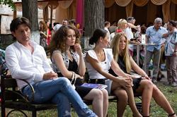 Гости джазового фестиваля в усадьбе Сандецкого. 14 июля 2012