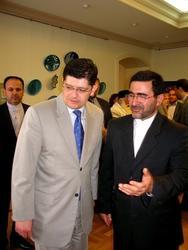 Ахмет Эргин и Реза Багбан Кондори