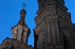 Колокольня Богоявленской церкви, Казань, ул. Баумана