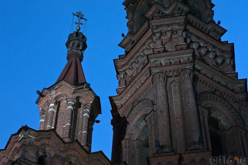 Фото №106255. Колокольня Богоявленской церкви, Казань, ул. Баумана