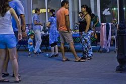 У сувенирной лавки. Казань, Баумана, 14.07.2012