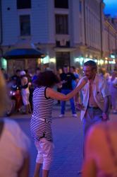 Танцы на Баумана. Казань, 14.07.2012