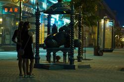 Скульптура ''Кот Казанский'', ул. Баумана, Казань, 14.07.2012