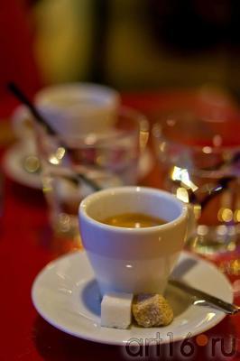 Кофе эспрессо::ул Баумана, вечер 14 июля 2012