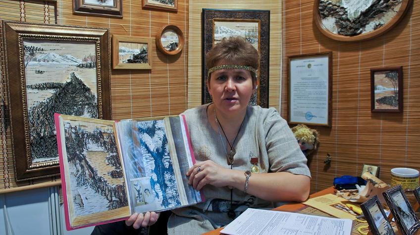 Любовь Каркавина, ʺБерезовая Русьʺ, г. Новокузнецк::«Арт Пермь» — 2012