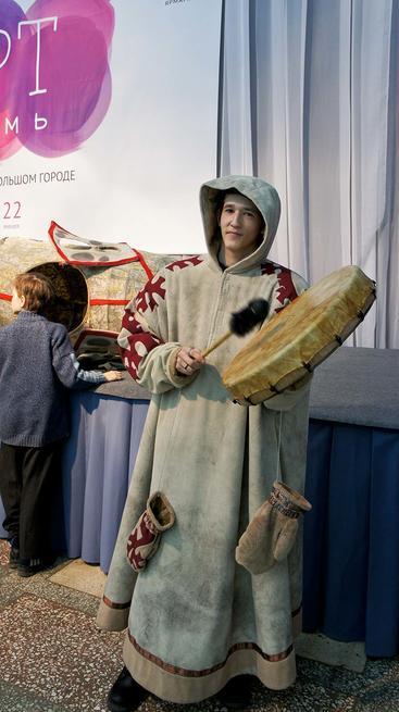 Вогулы на Пермской ярмарке::«Арт Пермь» — 2012