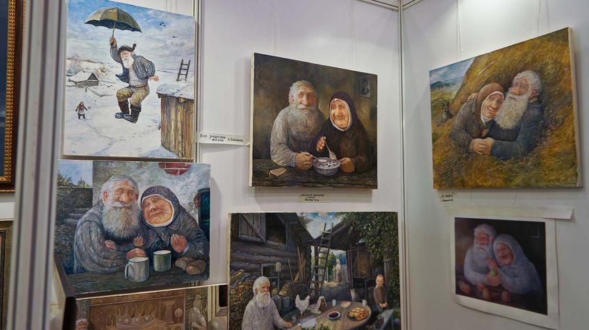 Картины Л.Баранова::«Арт Пермь» — 2012