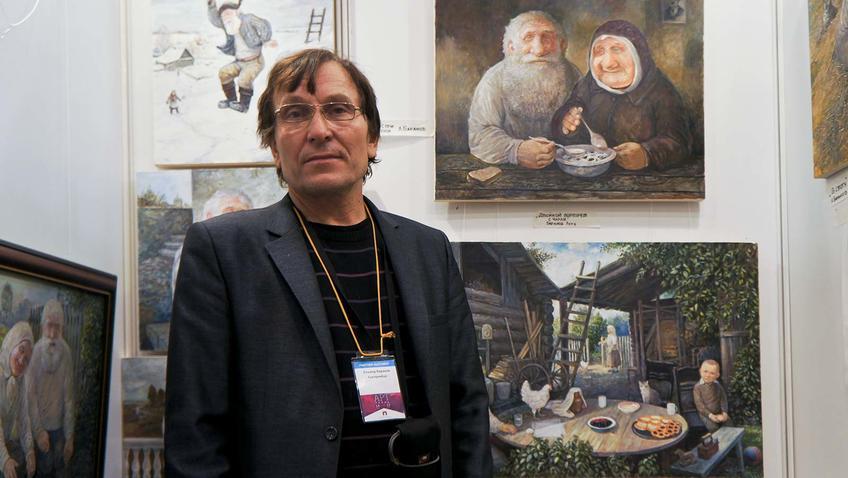Фото №90166. Леонид Баранов на Пермской ярмарке