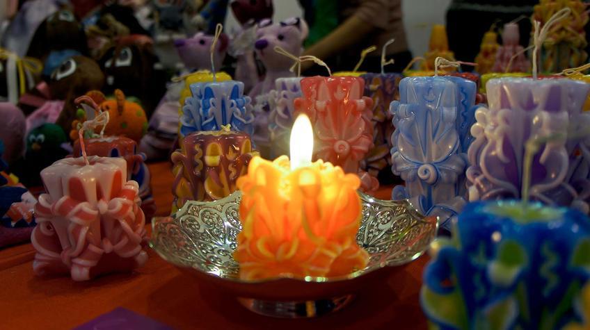 Резные свечи Алексеенко Натали (г.Новокузнецк)::«Арт Пермь» — 2012