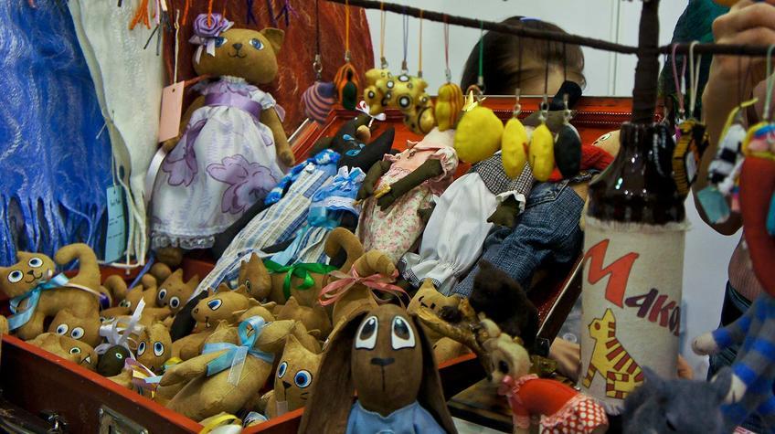 Куклы салона-мастерской ʺГород Макошиʺ, г. Новокузнецк::«Арт Пермь» — 2012