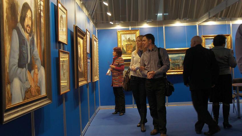 Выставочная площадка Никаса Сафронова::«Арт Пермь» — 2012