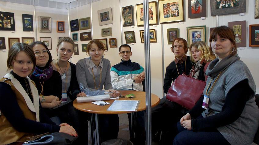 Эмальеры, г. Екатеринбург. Творческая группа ʺДекоʺ::«Арт Пермь» — 2012