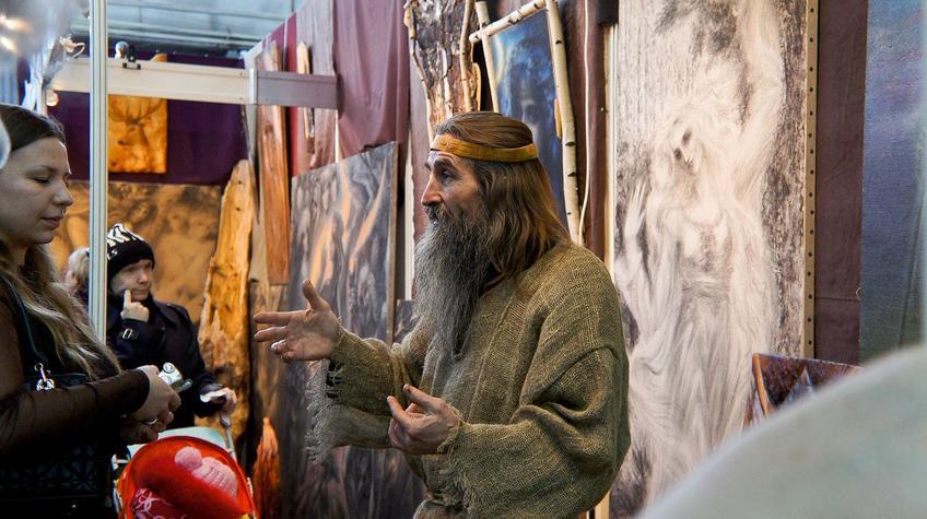 Творчество рода Сёмочкиных на Пермской ярмарке::«Арт Пермь» — 2012