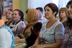 На творческом вечере в вечерней школе №1, Альметьевск, 21.07.2012