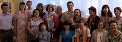 Участники творческого вечера в вечерней школе №1 (г. Альметьевск, 21.07.2012)