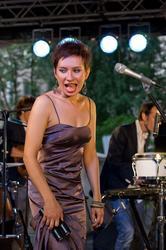 Татьяна Шишкова (Москва). 26.07.2012. джаз в Усадьбе Сандецкого