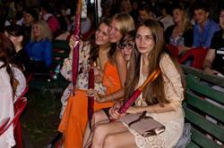 Победительницы викторины телеканала «Домашний». 26.07.2012