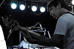 Евгений Ярын — бас-гитара. «MARIMBA PLUS». 26.07.2012