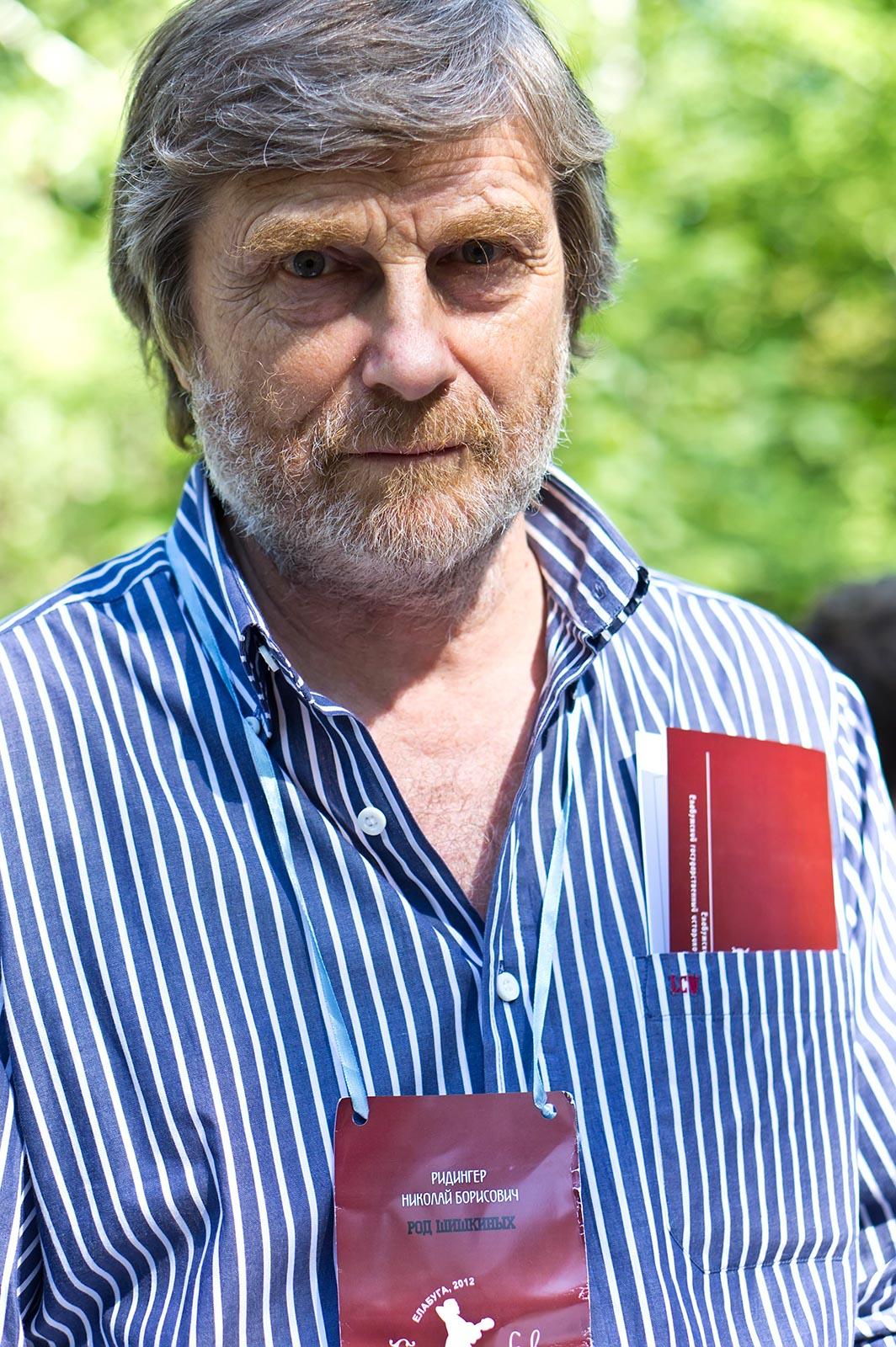 Фото №108781. Николай Борисович Ридингер, праправнук Ивана Ивановича Шишкина