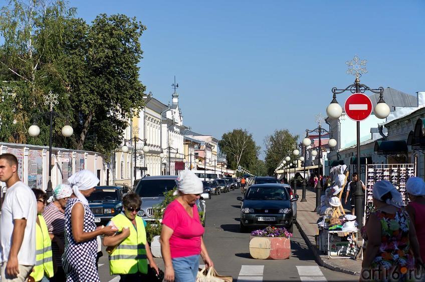 Фото №109117. Елабуга в дни Спасской ярмарки, 3 июля 2012