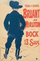 Афиша. Брюан в Мирлитоне.  Анри де Тулуз-Лотрек (1864–1901)