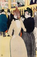 В Мулен Руж. Ла Гулю и Ла Мом Фромаж.  Анри де Тулуз-Лотрек (1864–1901)