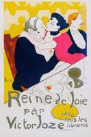Афиша. Королева радости с Виктором Жозе. Анри де Тулуз-Лотрек (1864–1901)