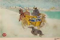Английская кибитка. Анри де Тулуз-Лотрек (1864–1901)