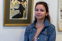 Полина Нечаева, куратор выставки