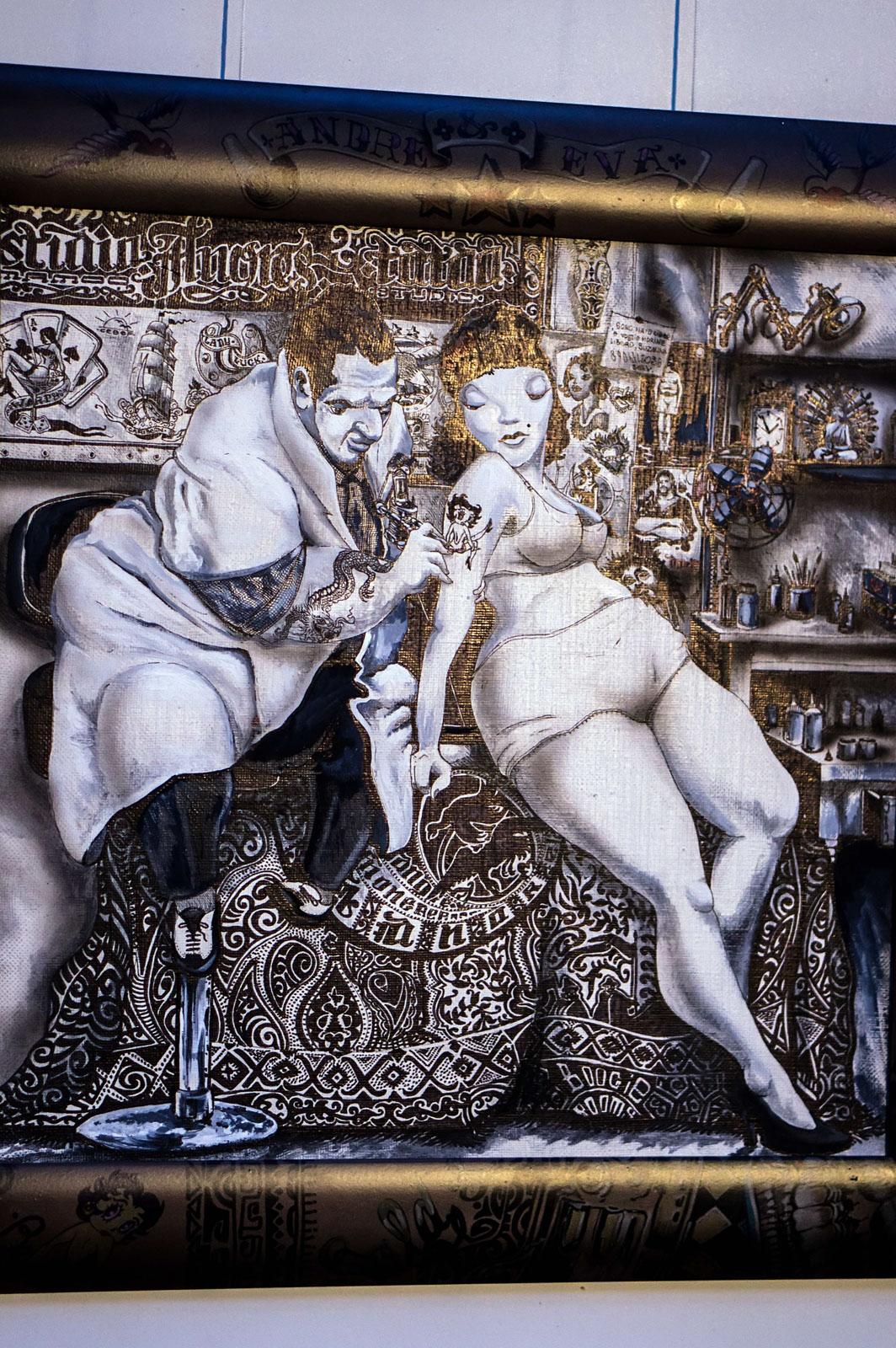 Фото №111633. Выставка граффити «Мегаполис