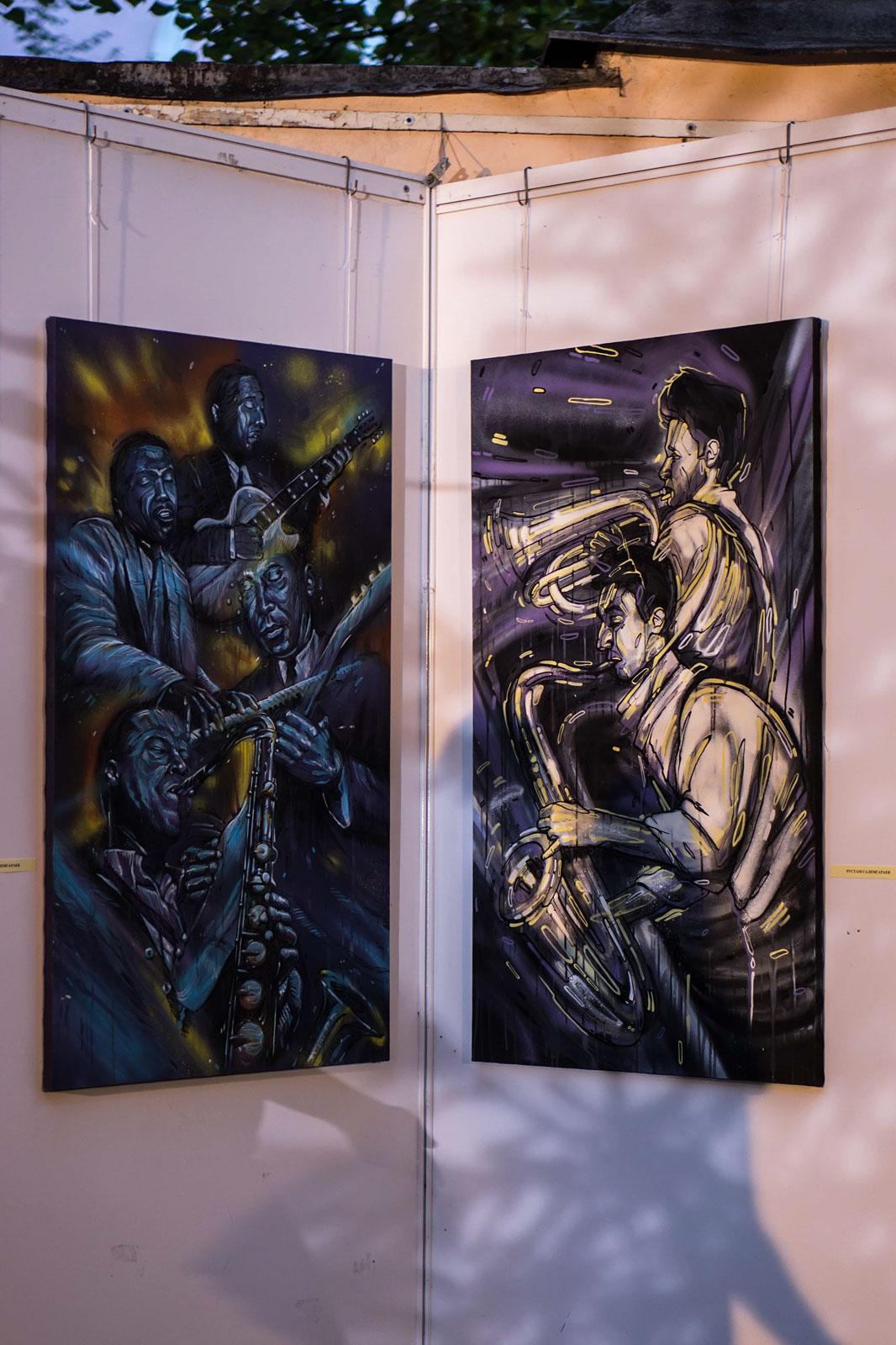 Фото №111640. Выставка граффити «Мегаполис
