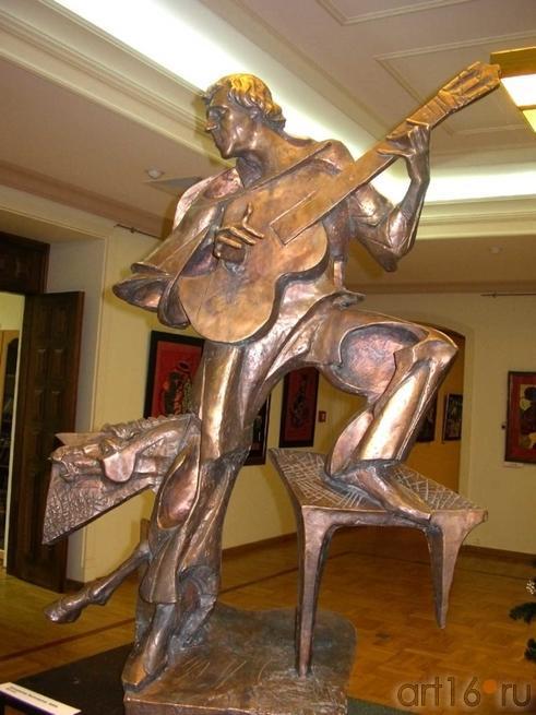 В.С.Высоцкий. Бронза.::Зураб Церетели. Открытие выставки