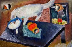 Белый кот. 2003. Кондратьев Д.С.1928-2008