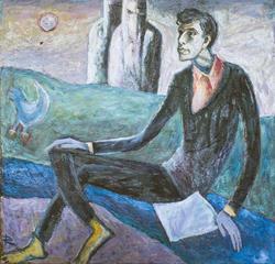 Поэт (Б. Пастернак). 1989. Кондратьев Д.С.1928-2008